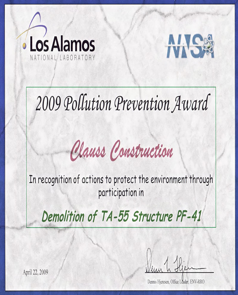 Los-Alamos-2009-Pollution-Prevention-Cert-File-Reduced